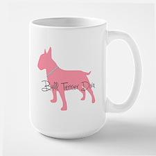 Diamonds Bull Terrier Diva Large Mug