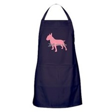Diamonds Bull Terrier Diva Apron (dark)