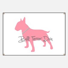 Diamonds Bull Terrier Diva Banner