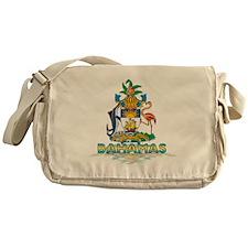 3D Bahamas Messenger Bag