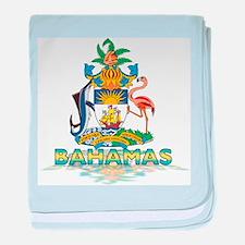 3D Bahamas baby blanket