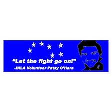 Patsy O'Hara Bumper Bumper Sticker