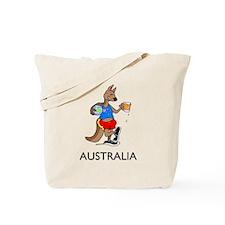 Australia Kangaroo Beer Tote Bag