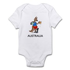 Australia Kangaroo Beer Infant Bodysuit