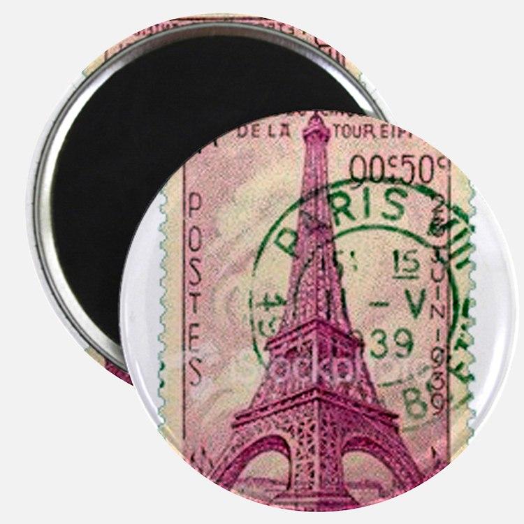 Vintage Stamp Magnets
