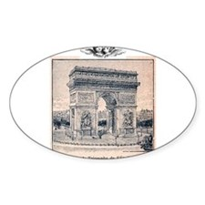 Cute Arc de triomphe Decal