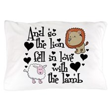 Lion fell in love with lamb Pillow Case
