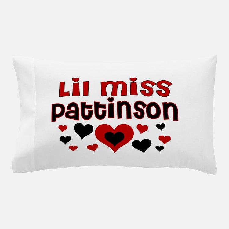 Lil Miss Pattinson Pillow Case