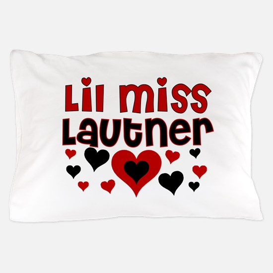 Lil Miss Taylor Lautner Pillow Case