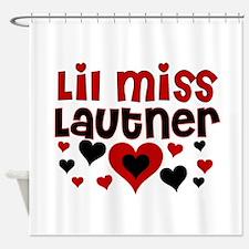 Lil Miss Taylor Lautner Shower Curtain