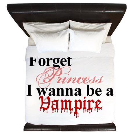 Forget princess VAMPIRE King Duvet