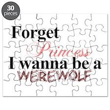 Forget princess WEREWOLF Puzzle