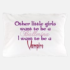 Ballerina Vampire Pillow Case