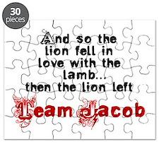 Team Jacob The lion left Puzzle