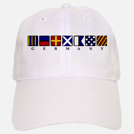 Nautical Germany Baseball Baseball Cap