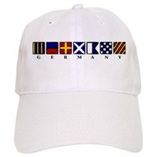 Nautical Germany Baseball Cap