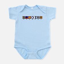 Nautical Germany Infant Bodysuit