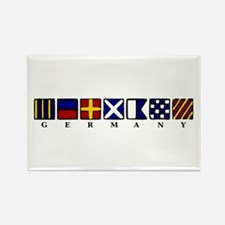 Nautical Germany Rectangle Magnet (100 pack)
