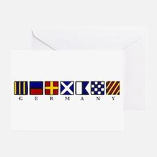 Nautical Germany Greeting Card