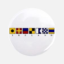 "Nautical Ireland 3.5"" Button"