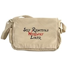 Self Righteous Werewolf Lover Messenger Bag