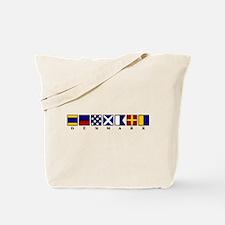 Nautical Denmark Tote Bag