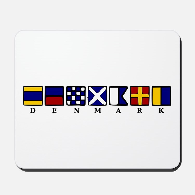 Nautical Denmark Mousepad