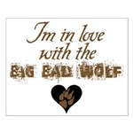In love with big bad wolf Small Poster