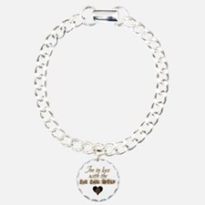 In love with big bad wolf Charm Bracelet, One Char