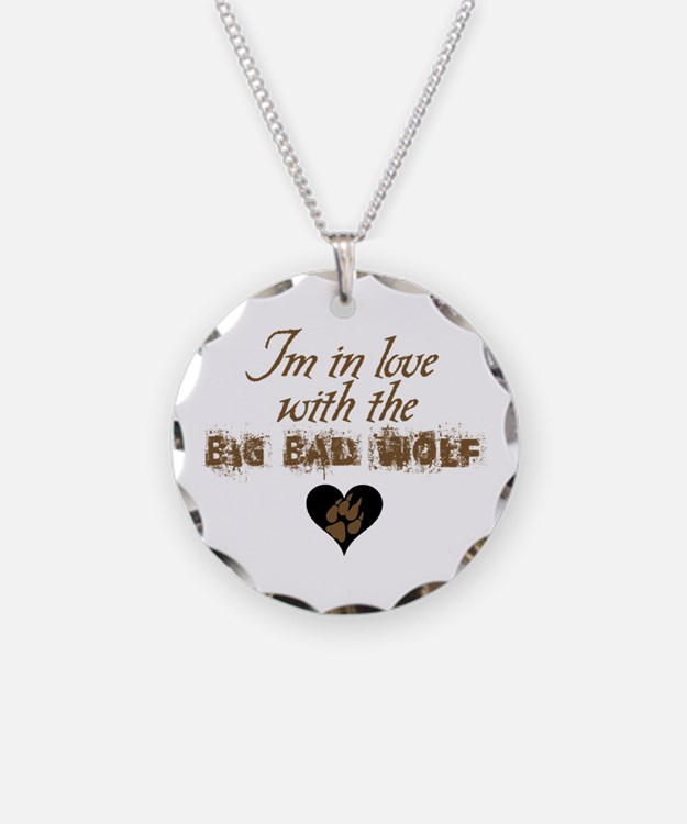 In love with big bad wolf Necklace