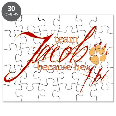 Team Jacob he's hot Puzzle