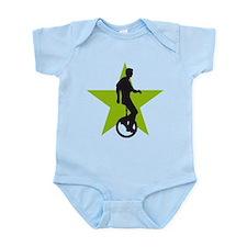Cute Evolution bike Infant Bodysuit