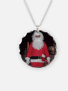 Christmas Santa Necklace