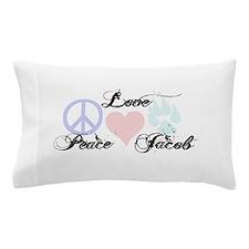 Peace love Jacob Black Pillow Case