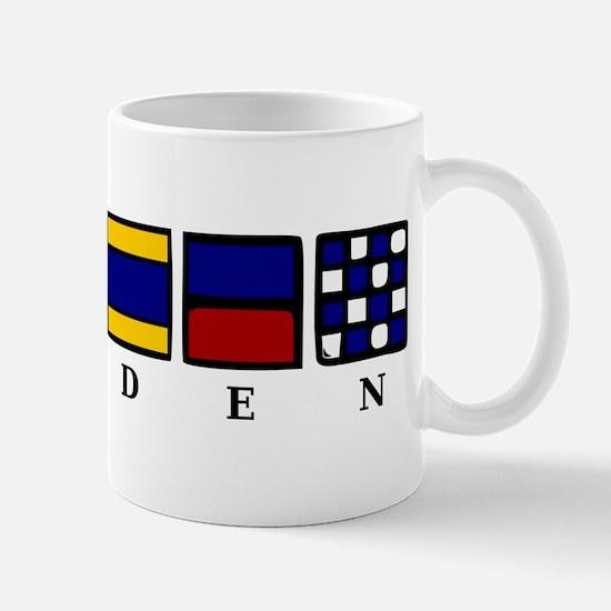 Nautical Sweden Mug