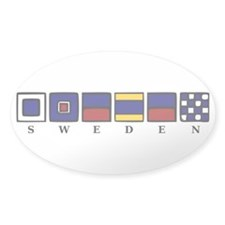 Nautical Sweden Decal