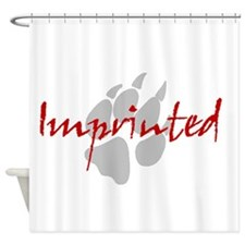 Imprinted Jacob Black Shower Curtain