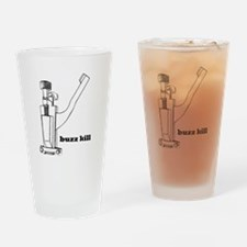 """buzz kill"" Snare Drum Drinking Glass"