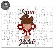 Team Jacob Cheerleader Puzzle