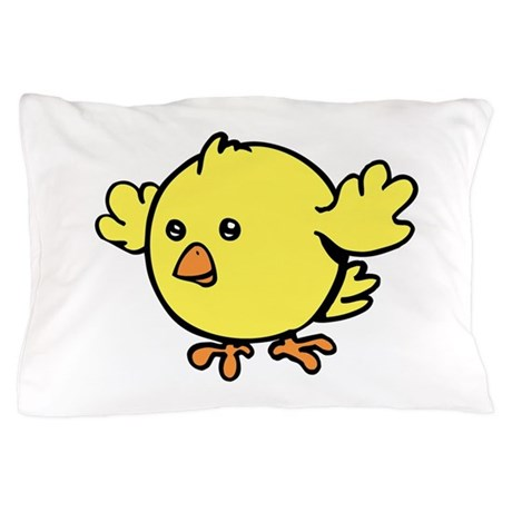 Cute Chick. Pillow Case