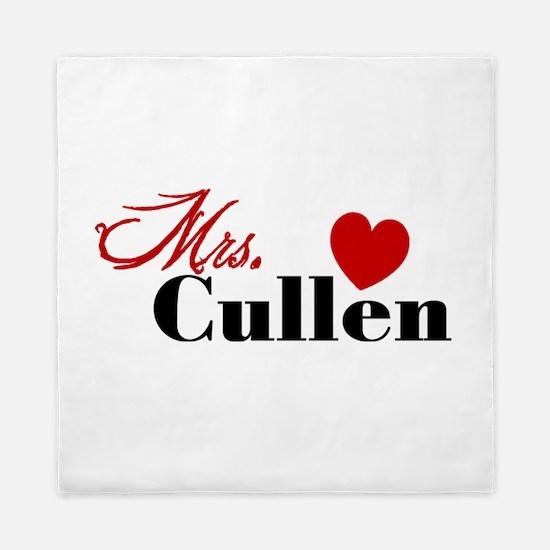 Mrs. Edward Cullen Queen Duvet