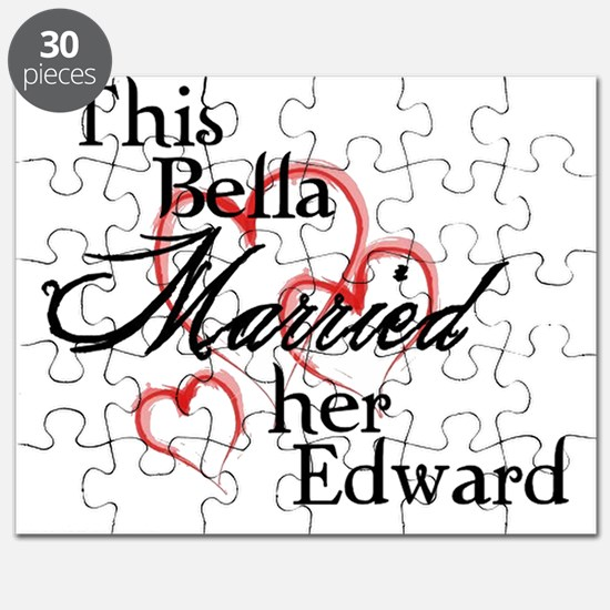 Bella married Edward Puzzle