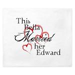 Bella married Edward King Duvet