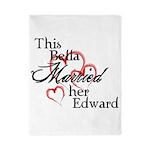 Bella married Edward Twin Duvet