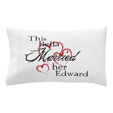 Bella married Edward Pillow Case