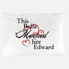 Bella married Edward Pillow Case