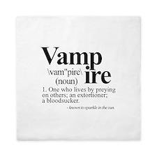 Definition of a Vampire Queen Duvet