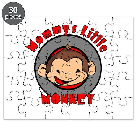 Mommy's little monkey (boy) Puzzle
