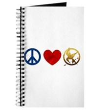 Peace, Love, Hunger Games Journal