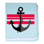 The Sailor baby blanket